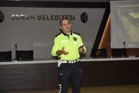 OTOBÜS ŞOFÖRÜ - Çorum Belediyesi'nden Toplu Taşıma Sürücülerine Eğitim