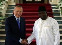 ENERJİ VE TABİİ KAYNAKLAR BAKANI - Cumhurbaşkanı Erdoğan, Gambiya Cumhurbaşkanı Adama Barrow İle Görüştü