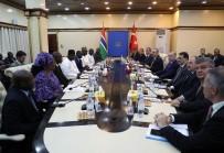 İMZA TÖRENİ - Cumhurbaşkanı Erdoğan, Gambiya'da Heyetler Arası Görüşme Gerçekleştirdi