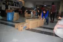 Edremit'ten Deprem Bölgesine Yardım Tırı Yola Çıktı