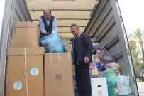 KAMYONCULAR - Elazığ'daki Depremzedeler İçin Alanya'dan 2 Tır Yola Çıktı