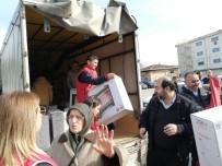 İstanbullu Muhtarlardan Elazığ'a Yardım Yağdı