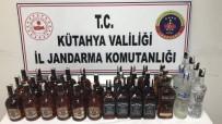 KAÇAK İÇKİ - Kütahya'da 36 Litre Kaçak İçki Ele Geçirildi