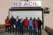 MECLIS BAŞKANı - Meclis Başkanı Yıldız, Elazığ'dan Dönen AFAD, 112 Ve UMKE Ekiplerini Ziyaret Etti