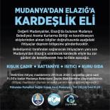KURTARMA EKİBİ - Mudanya'dan Elazığ'a Kardeşlik Eli