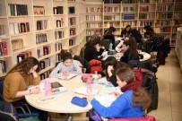Selçuklu'da Yarıyıl Tatilinde Çocuklar Kütüphanelere Akın Etti