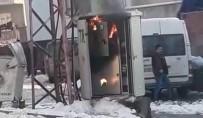 ONARIM ÇALIŞMASI - Siirt'te Trafo Yangını Paniğe Neden Oldu
