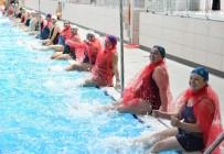 ÜLKER - Su Jimnastiğinin Kraliçeleri Seçildi