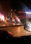 Taksi Durağında Yangın