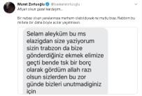 Trabzon'dan Elazığ'a Gönderilen Ekmek İçin Başkan Zorluoğlu'na Teşekkür