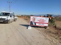 Aksu'da Kanalizasyon Çalışması Sürüyor