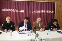 KENTSEL DÖNÜŞÜM PROJESI - Hacılar'da Güvenlik Ve Muhtarlar Toplantısı Yapıldı