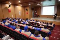 İŞ SAĞLIĞI - Haliliye'den Temizlik Personeline İş Sağlığı Ve Güvenliği Eğitimi