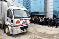 ÜLKÜ OCAKLARı - Kastamonu Belediyesinin Yardım Tırları Yola Çıktı