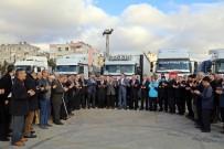 OSMAN GAZI - Müftülük Yardımları Dualar Eşliğinde Elazığ Ve İdlib'e Uğurlandı