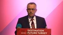 ÖZEL SEKTÖR - Naci Ağbal Açıklaması ''2023 Yılı İçin 75 Milyon Turist Ve 65 Milyar Dolar Turizm Geliri Hedefledik''