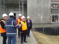 Rektör Murat, 18 Mart İÇDAŞ Ulu Camii İnşaatında İncelemelerde Bulundu