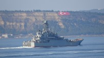 SAVAŞ GEMİSİ - Rus Savaş Gemisi 'Azov', Çanakkale Boğazı'ndan Geçti