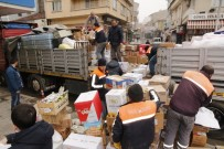 Sungurlu'dan Elazığ'a 3 Tır Dolusu Yardım Malzemesi Yola Çıktı