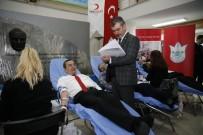 KÖK HÜCRE - Başkan Batur, Kan Bağışı Kampanyası Başlattı