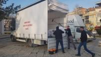 İnegöllü Nakliyeci, Topladığı Yardım Malzemelerini Depremzedelere Götürdü