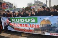EĞITIM BIR SEN - 'Kudüs Müslümanların Onurudur' Eylemi Düzenlendi