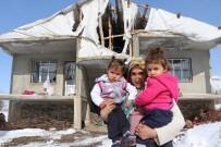 KAYHAN - (Özel) Buz Tutan Evde 3 Çocuğuyla Yaşam Mücadelesi Veriyor