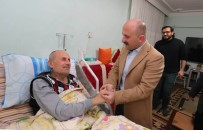 AÇIK KAPI - Vali Varol'dan Diyaliz Hastasına Moral