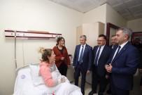 MEHMET TAHMAZOĞLU - Başkan Tahmazoğlu Hastaları Ziyaret Etti