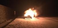 Bingöl'de Otomobil Alev Alev Yandı