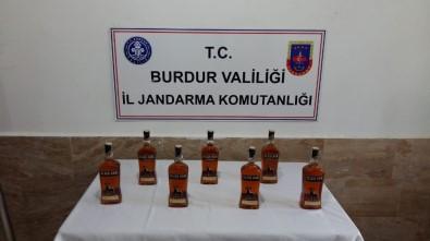 Büfeye Kaçak Alkol Baskını