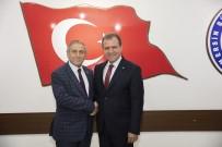 PARTİ MECLİSİ - CHP Genel Başkan Yardımcısı Kaya'dan Başkan Seçer'e Ziyaret