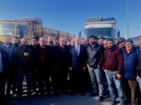 ESNAF ODASı BAŞKANı - Denizli'de Kamyoncu Esnafı U-ETDS Sistemi Dolayısı İle Greve Gitti