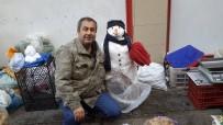KARAKÖY - Kardan Adam Pazara İndi Satışlar Patladı