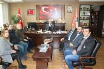 Küresel Gazeteciler Konseyi'nden Emniyet Müdürü Artunay'a Ziyaret