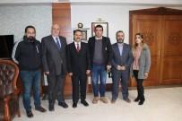 Küresel Gazeteciler Konseyi, Vali Aktaş'ı Ziyaret Etti
