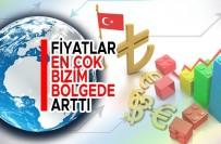 Türkiye'de, Geçen Sene Yıllık Bazda Fiyatların En Fazla Arttığı Bölge, Yüzde 13,65 İle 'Erzurum, Erzincan, Bayburt' Oldu