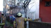 Tuzla'da Gecekondu Yangını Açıklaması 1 Yaralı