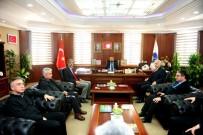 ULUDAĞ ÜNIVERSITESI - TVHB Başkanı Eroğlu'ndan Rektör Şevli'ye Ziyaret