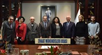 Ziraat Mühendisleri Başkan Ataç'ı Ziyaret Etti
