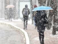 HAVA DURUMU - 23 il için kar uyarısı yapıldı