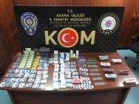 KAÇAK İÇKİ - Adana'da Kaçakçılık Operasyonu