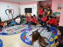 GÜVENLİ BÖLGE - Ardahan AFAD Ve UMKE Ekipleri Miniklere Deprem Eğitimi Verdi