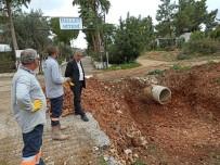 FEVZIPAŞA - Didim Belediyesi Akbük'te Yağmur Suyu Kanalı Yapıyor