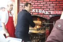 Ekrem İmamoğlu - İmamoğlu Erzurum'da Çağ Kebabı Kesti