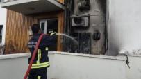 BELEK - Klima Ünitesinde Çıkan Yangın Turistleri Korkuttu