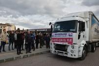 Mustafkemalpaşa'dan Elazığ'a Yardım Tırı Yola Çıktı