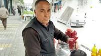 ŞALGAM SUYU - Seyyar Satıcı Cumali'nin İddiası Açıklaması 'Korona Virüsünün İlacı Şalgam Suyu'