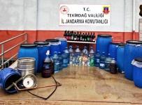 KAÇAK İÇKİ - Tekirdağ'da Bir Tona Yakın Kaçak İçki Ele Geçirildi