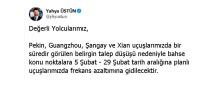 FREKANS - Türk Hava Yolları Çin'de Sefer Azaltıyor
